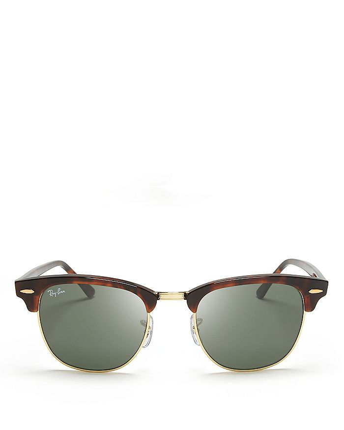 Ray-Ban - Unisex Classic Clubmaster Sunglasses, 51mm