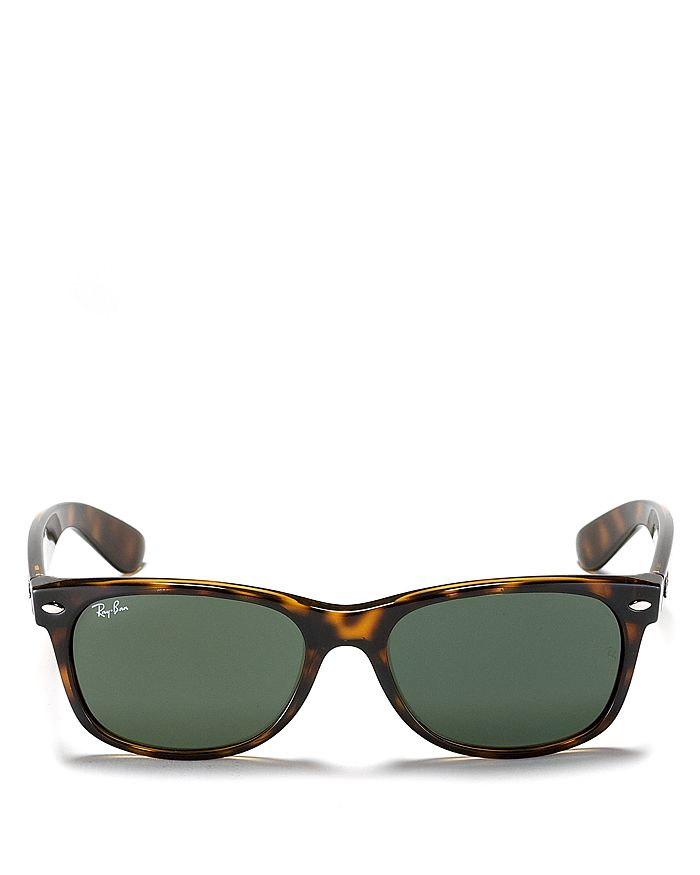 Ray-Ban - Unisex New Wayfarer Polarized Sunglasses, 55mm