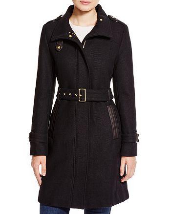 Cole Haan - Wool Trench Coat