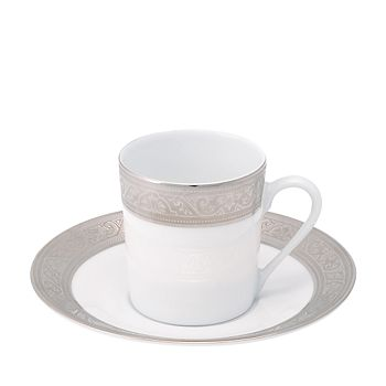 Philippe Deshoulieres - Trianon Platinum Coffee Saucer