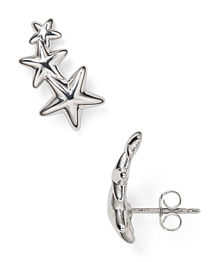 Sterling Silver Star Ear Climbers - 100% Exclusive