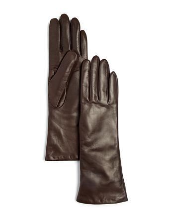 Bloomingdale's - Cashmere Lined Long Leather Gloves - 100% Exclusive