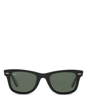 Ray-Ban - Unisex Polarized Classic Wayfarer Sunglasses, 54mm