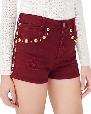Sandro - Pichi Studded Shorts