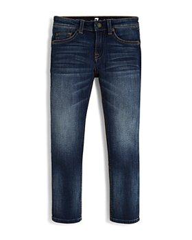 7 For All Mankind - Boys' Slimmy Slim Straight Jeans - Big Kid