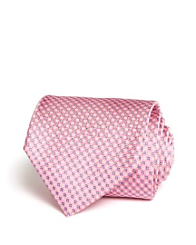 The Men's Store at Bloomingdale's - Micro Grid Classic Tie - 100% Exclusive