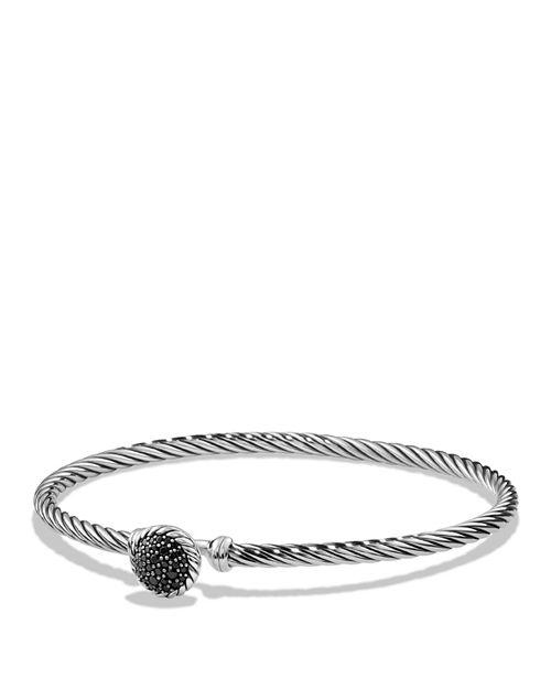David Yurman - Châtelaine Bracelet with Black Diamonds