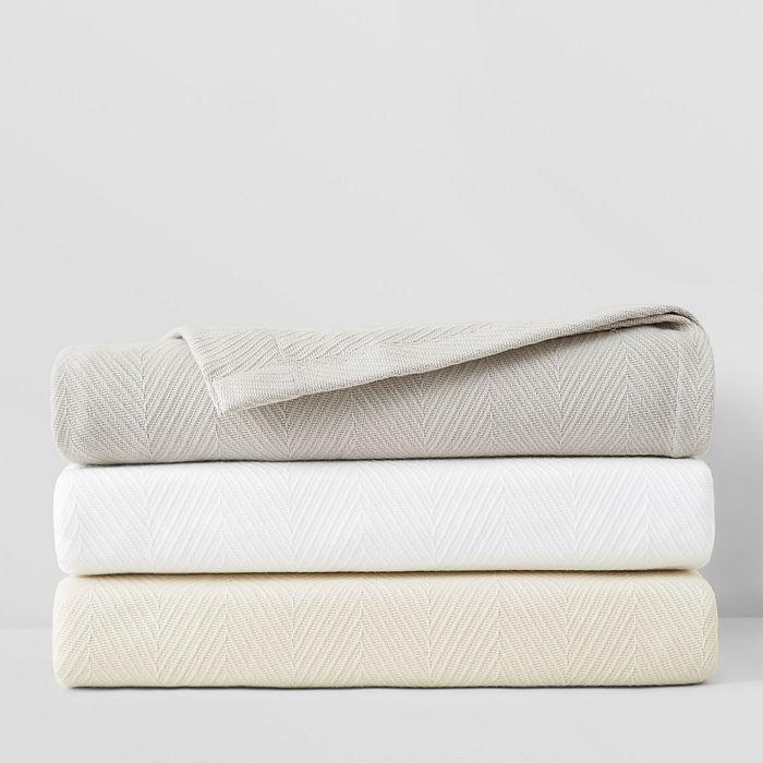 Hudson Park Collection - Chevron Blanket, King - 100% Exclusive