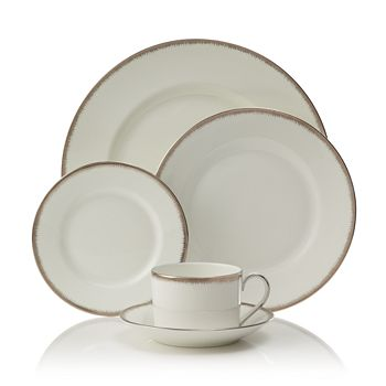 "Wedgwood - ""Silver Aster"" 5 Piece Place Setting"