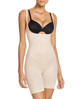 Tc Fine Intimates Firm Control Open-Bust Torsette Thigh Slimming Shaper