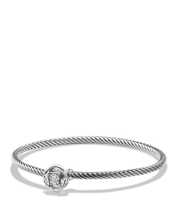 David Yurman Infinity Bracelet with Diamonds  | Bloomingdale's