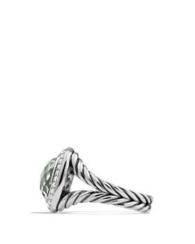 David Yurman - David Yurman Albion Ring with Prasiolite and Diamonds
