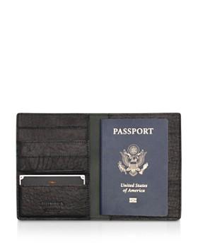 Shinola - Leather Passport Wallet