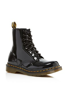 Dr. Martens - Women's 1460 Patent Lace Up Boots