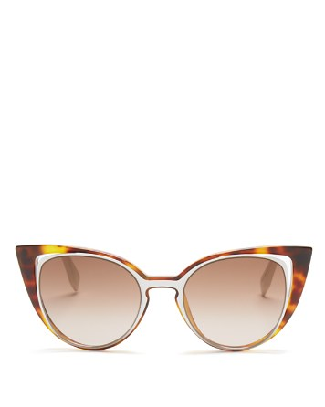 $Fendi Floating Cat Eye Sunglasses, 51mm - Bloomingdale's