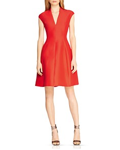 HALSTON HERITAGE Structured Faille Dress - Bloomingdale's_0