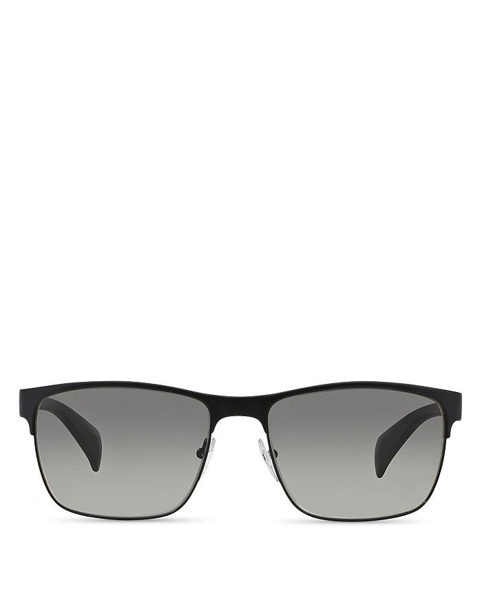 f88da49c5376 Prada Men's McNamara Rectangle Sunglasses, 58mm | Bloomingdale's
