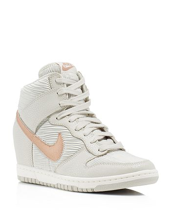 e263f24e6c9 Nike - Dunk Sky Hi Wedge Sneakers