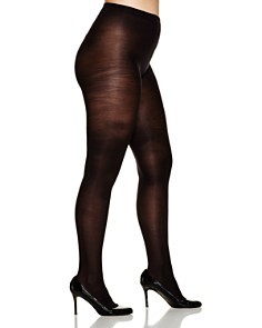 HUE - Plus Opaque Tights