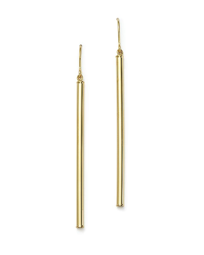 Bloomingdale's - 14K Yellow Gold Linear Drop Earrings - 100% Exclusive