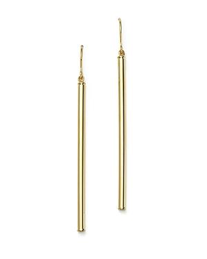 14K Yellow Gold Linear Drop Earrings - 100% Exclusive