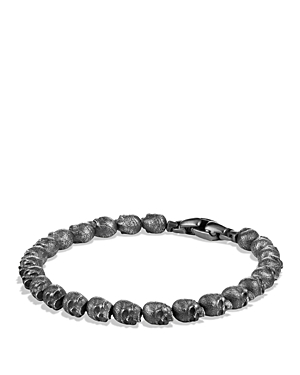 David Yurman Spiritual Beads Skull Bracelet