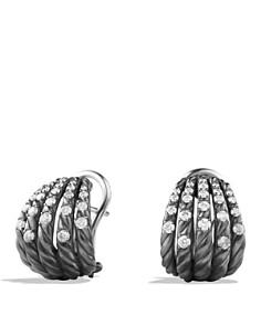 David Yurman - David Yurman Tempo Earrings with Diamonds