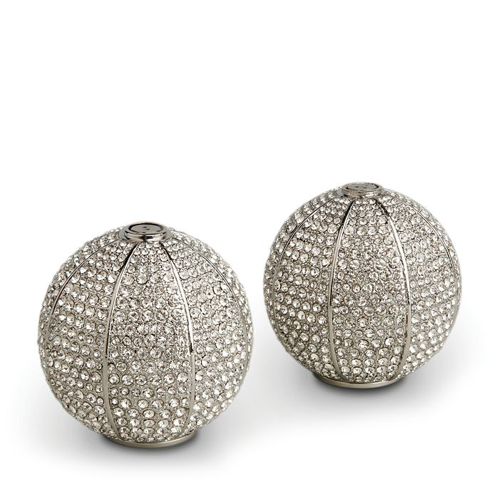 L'Objet - Pavé Sphere Salt & Pepper Shakers
