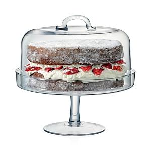 Lsa Serve Cake Stand & Dome