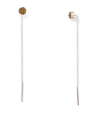Chan Luu Agate Threader Earrings