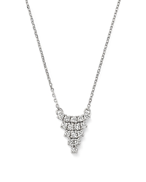 Click here for Kc Designs Diamond Triangle Pendant Necklace in 14... prices