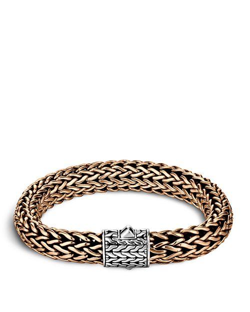 JOHN HARDY - John Hardy Men's Classic Chain Silver and Bronze Large Chain Bracelet