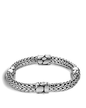 John Hardy - Women's Sterling Silver Kali Four Station Bracelet