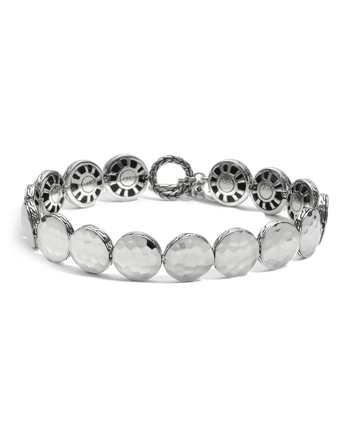 JOHN HARDY - John Hardy Women's Sterling Silver Palu Small Round Disc Bracelet