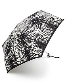 Bloomingdale's - Mini Zebra Print Umbrella - 100% Exclusive