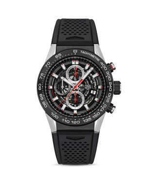 TAG HEUER Carrera Heuer 01 Chronograph, 45Mm in Black