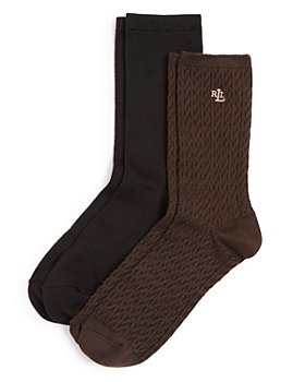 Ralph Lauren - Cable Trouser Super Soft Socks, Set of 2