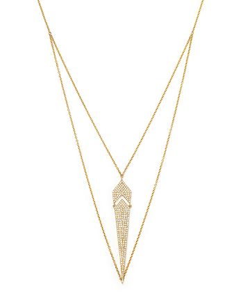 Bloomingdale's - Diamond Pendant Necklace in 14K Yellow Gold, .50 ct. t.w.- 100% Exclusive