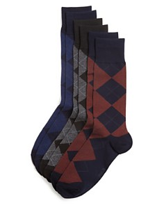 Polo Ralph Lauren Argyle Dress Socks, Pack of 3 - Bloomingdale's_0