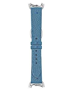 Fendi Selleria Blue Leather Watch Strap, 18mm - Bloomingdale's_0
