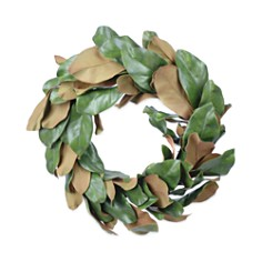 "Gold Eagle Magnolia Leaves Wreath, 22"" - Bloomingdale's_0"