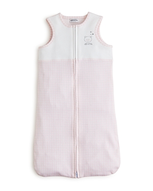 Absorba Girls' Gingham Zip Sleep Sack - Baby