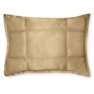 Donna Karan Silk Quilted Standard/Queen Sham