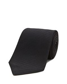 Turnbull & Asser Solid Herringbone Classic Tie - Bloomingdale's_0
