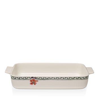 "Villeroy & Boch - Artesano Provencal Rectangular Baking Dish, 11.75"""