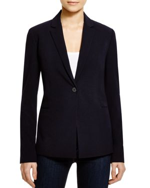 T Tahari Jolie Notch Lapel Blazer