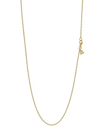 Temple St. Clair - 18K Yellow Gold Ball Chain, 16""