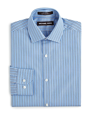 Michael Kors Boys' Multi Stripe Button-Down Shirt - Sizes 8-20
