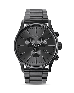 Nixon Sentry Chronograph Watch, 42mm