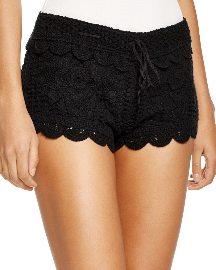 Surf Gypsy Crochet Swim Cover Up Shorts Bloomingdales